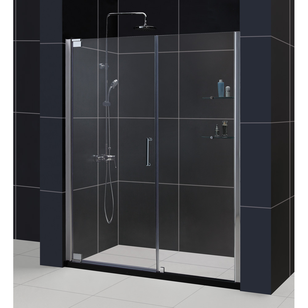 Bath Authority Dreamline Elegance Frameless Pivot Shower