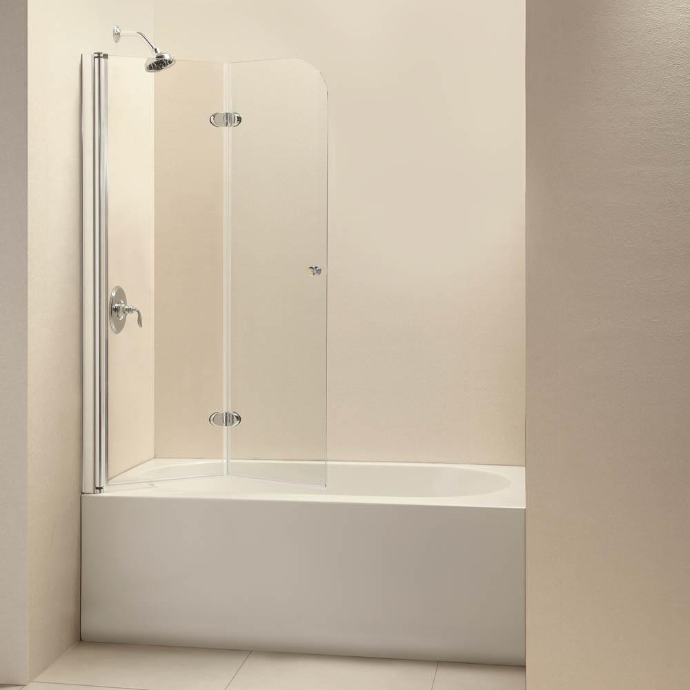 Bath Authority Dreamline Ez Fold Frameless Hinged Tub Door