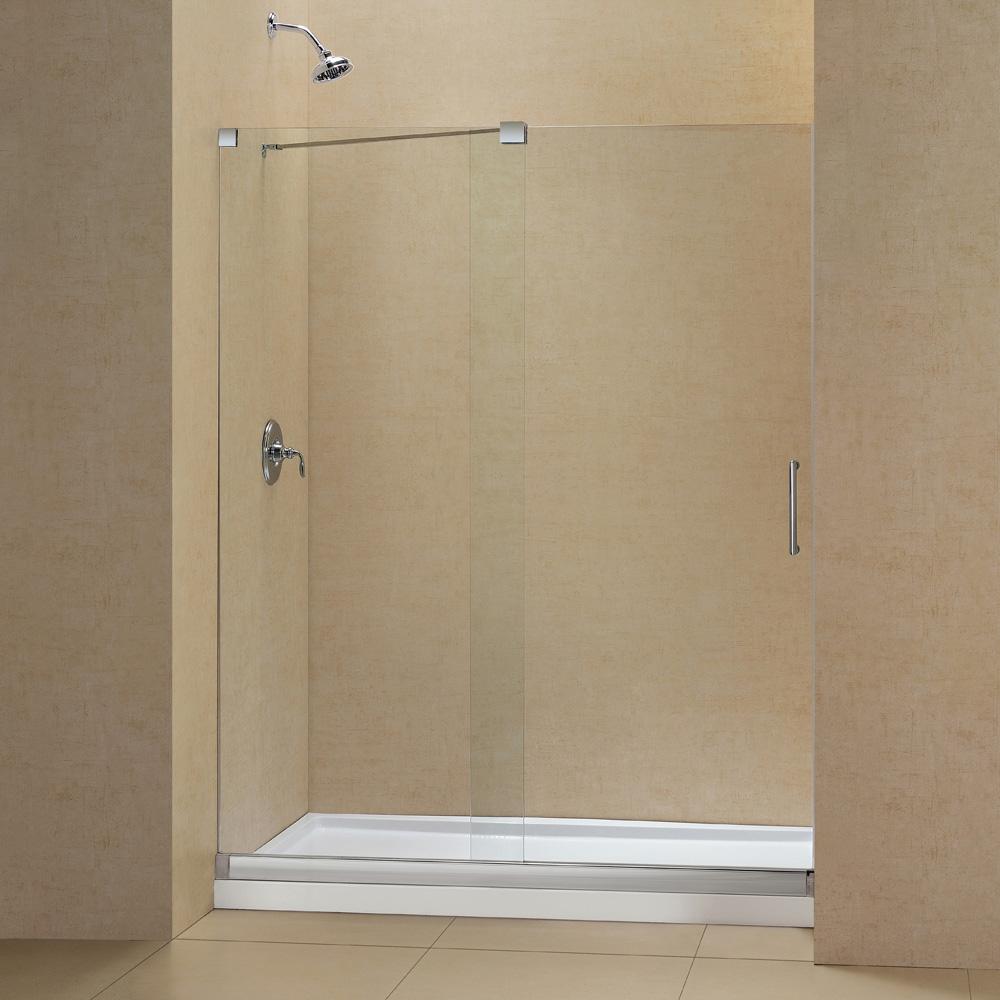 Bath Authority Dreamline Mirage Frameless Sliding Shower