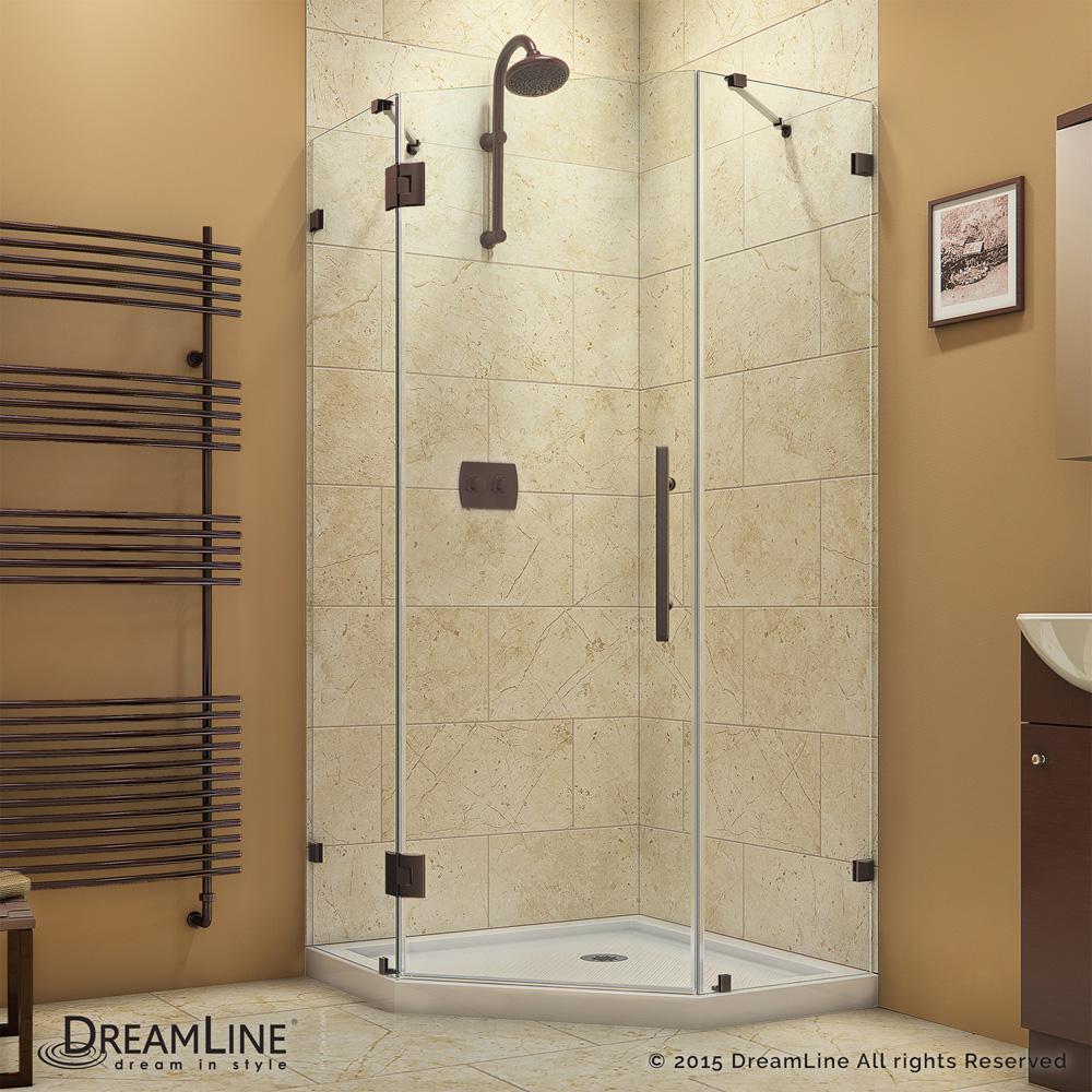 Bath Authority Dreamline Prismlux Frameless Hinged Shower