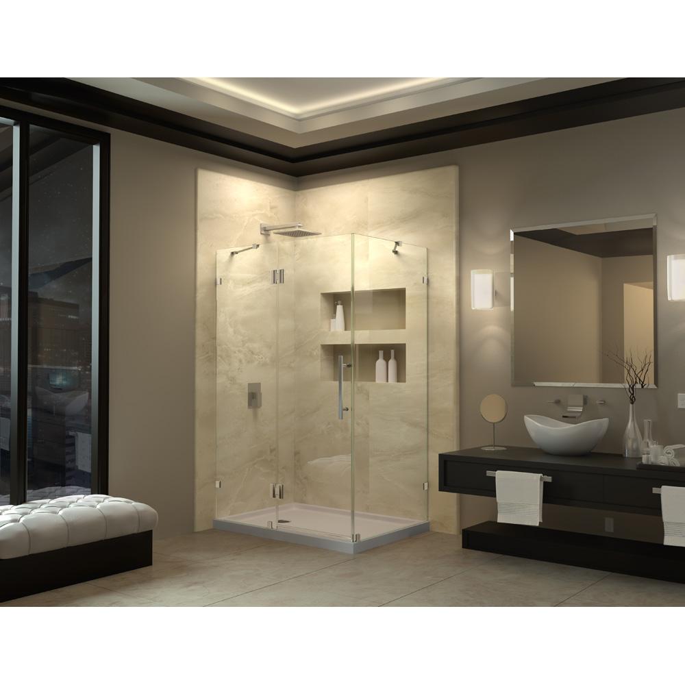 Bath Authority Dreamline Quatralux Frameless Hinged Shower