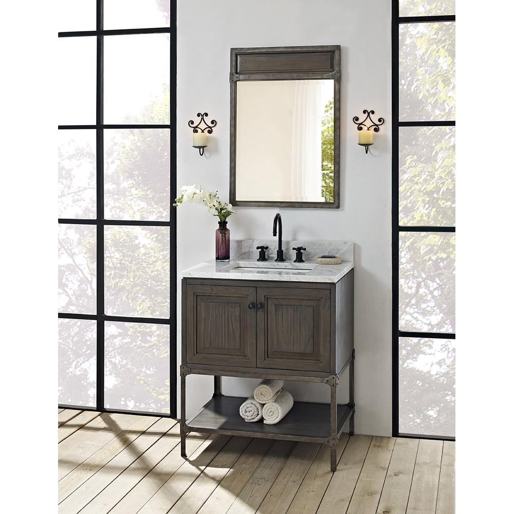 """New Doors For Bathroom Vanity: Fairmont Designs Toledo 30"""" Vanity With Doors"""
