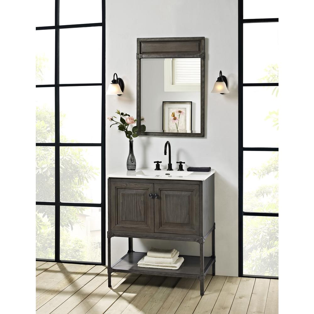 """New Doors For Bathroom Vanity: Fairmont Designs Toledo 30"""" Vanity With Doors For"""