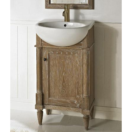 Fairmont Designs Rustic Chic 20 Vanity Sink Set Weathered Oak Free Shipping Modern Bathroom