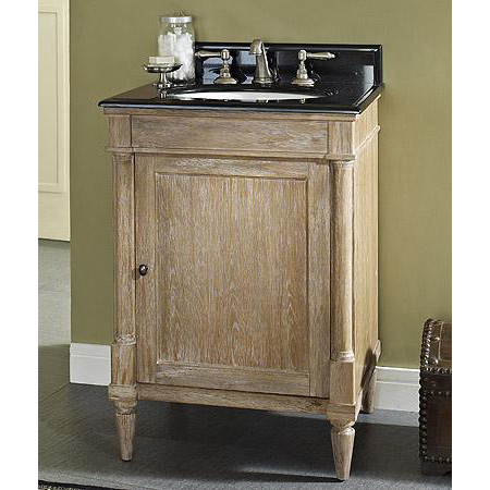 Fairmont Designs Rustic Chic 24 Vanity Weathered Oak Free Shipping Modern Bathroom