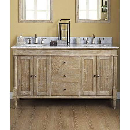 Fairmont Designs Rustic Chic 60 Vanity, Weathered Oak Bathroom Vanity Mirror