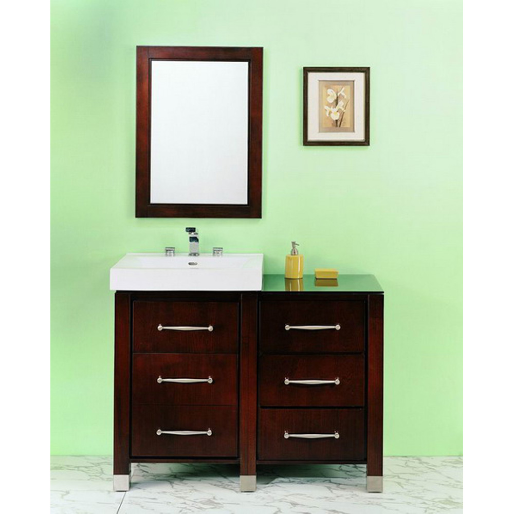 Fairmont Designs Midtown 44 Modular Vanity And Sink Set Espresso Free Shipping Modern