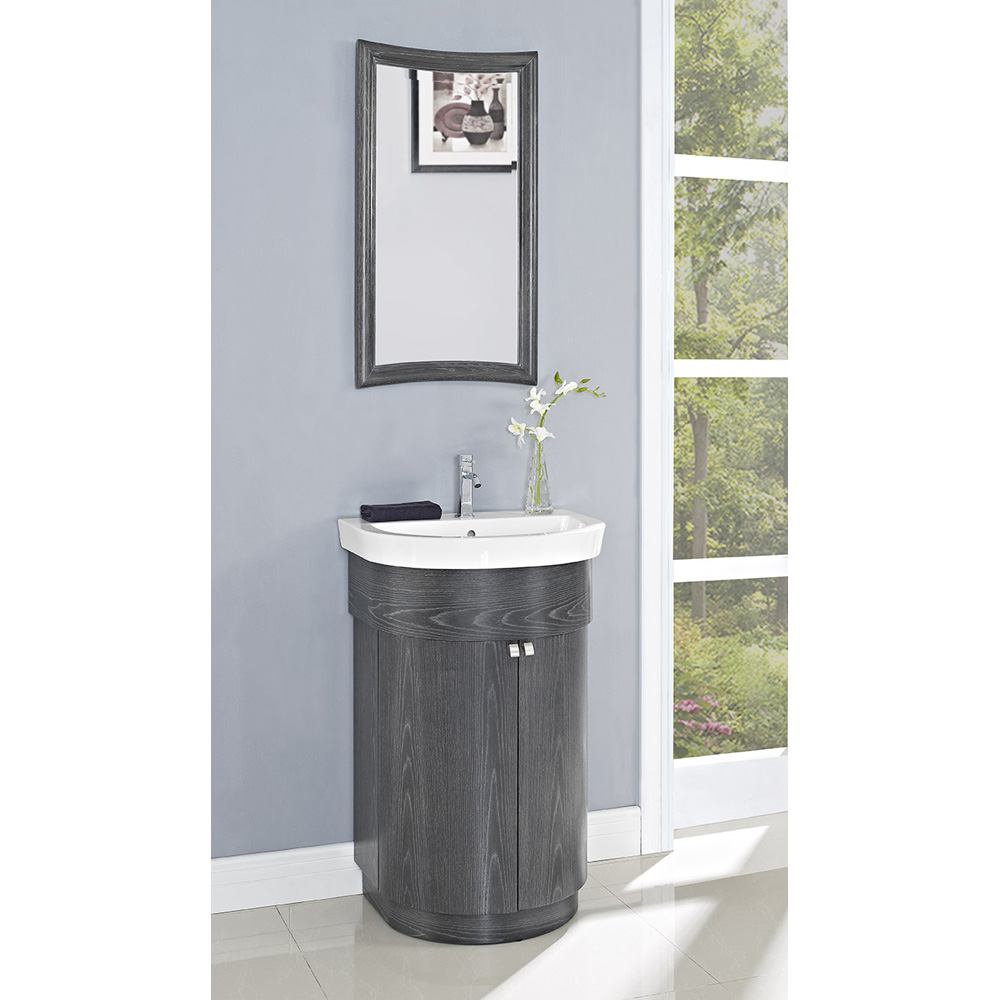 Fairmont Designs Boulevard 24 Curved Vanity And Sink Set