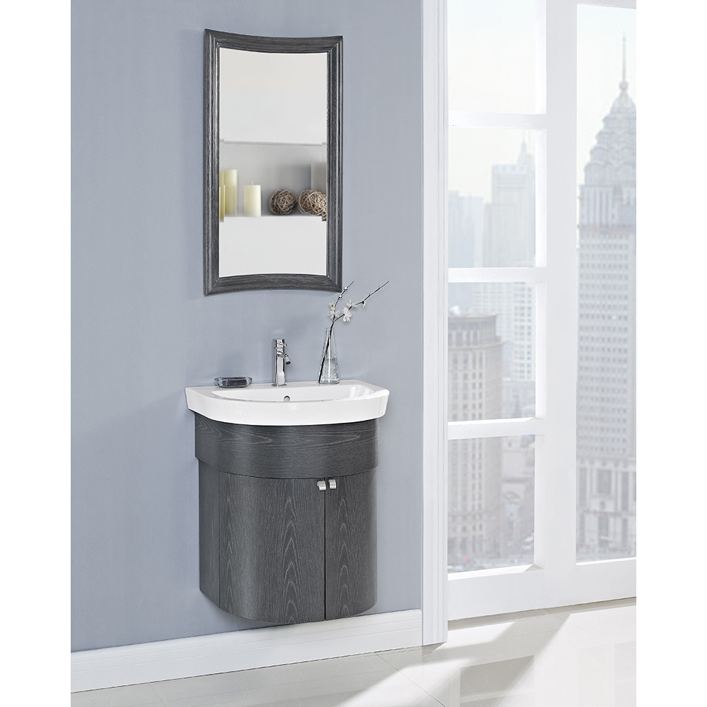 Fairmont Designs Boulevard 24 Quot Curved Wall Mount Vanity