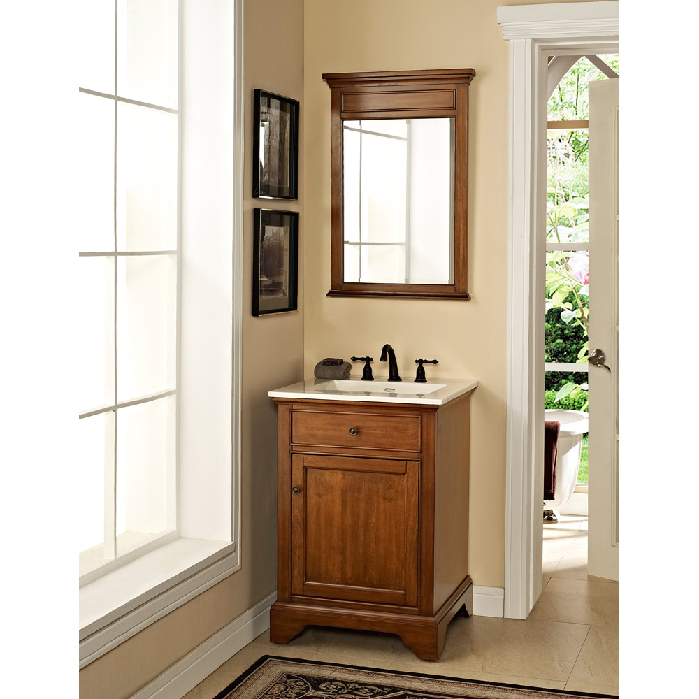 Fairmont Designs Framingham 24 Vanity Vintage Maple Free Shipping Modern Bathroom