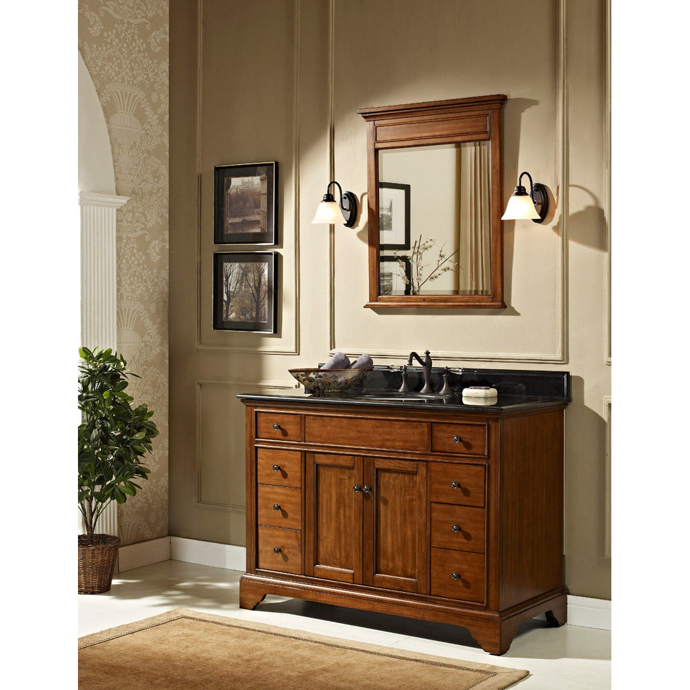 design bathroom vanity fairmont designs framingham 48 quot vanity vintage maple 11373