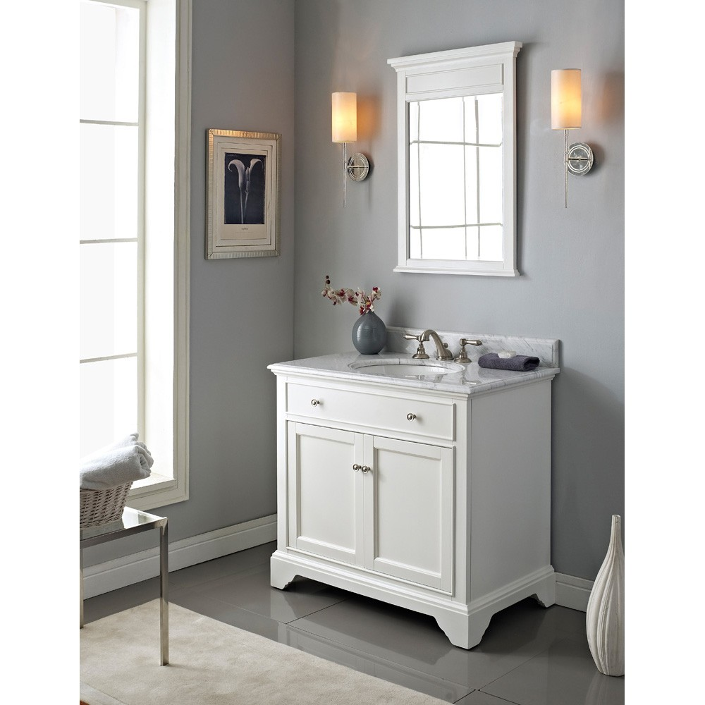 Fairmont Designs Framingham 36 Quot Vanity Polar White