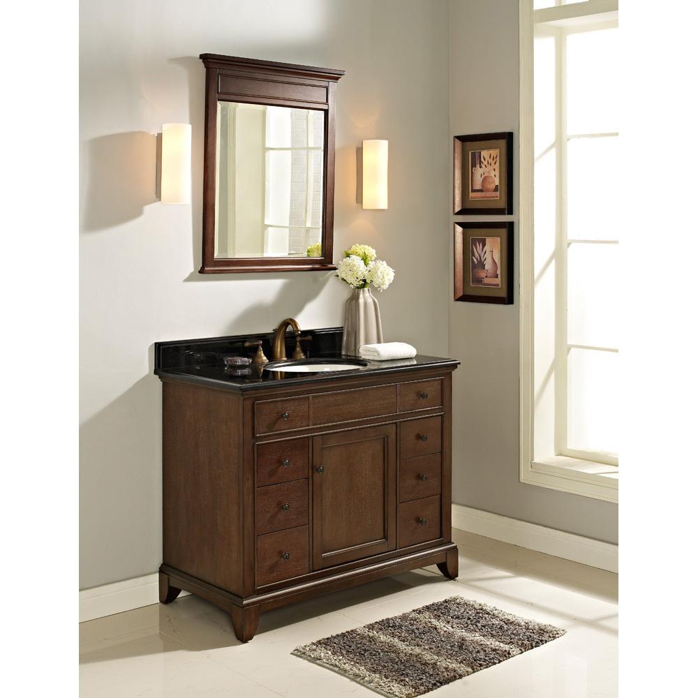 Fairmont Designs 42 Smithfield Vanity Mink Free Shipping Modern Bathroom