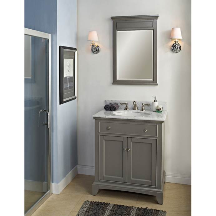 "Fairmont Designs 30"" Smithfield Vanity - Medium Gray 1504-V30"
