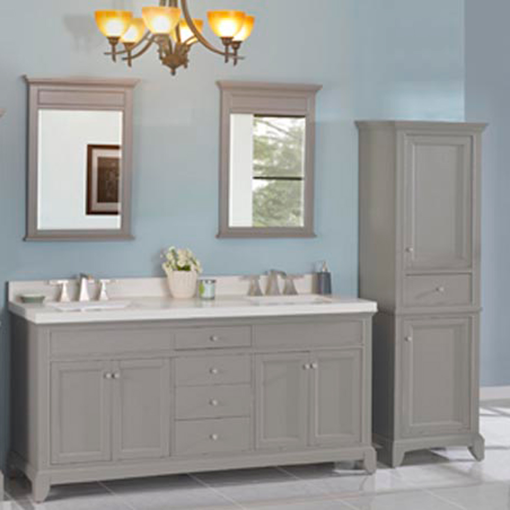 "Fairmont Designs Smithfield 72"" Double Bowl Vanity ..."