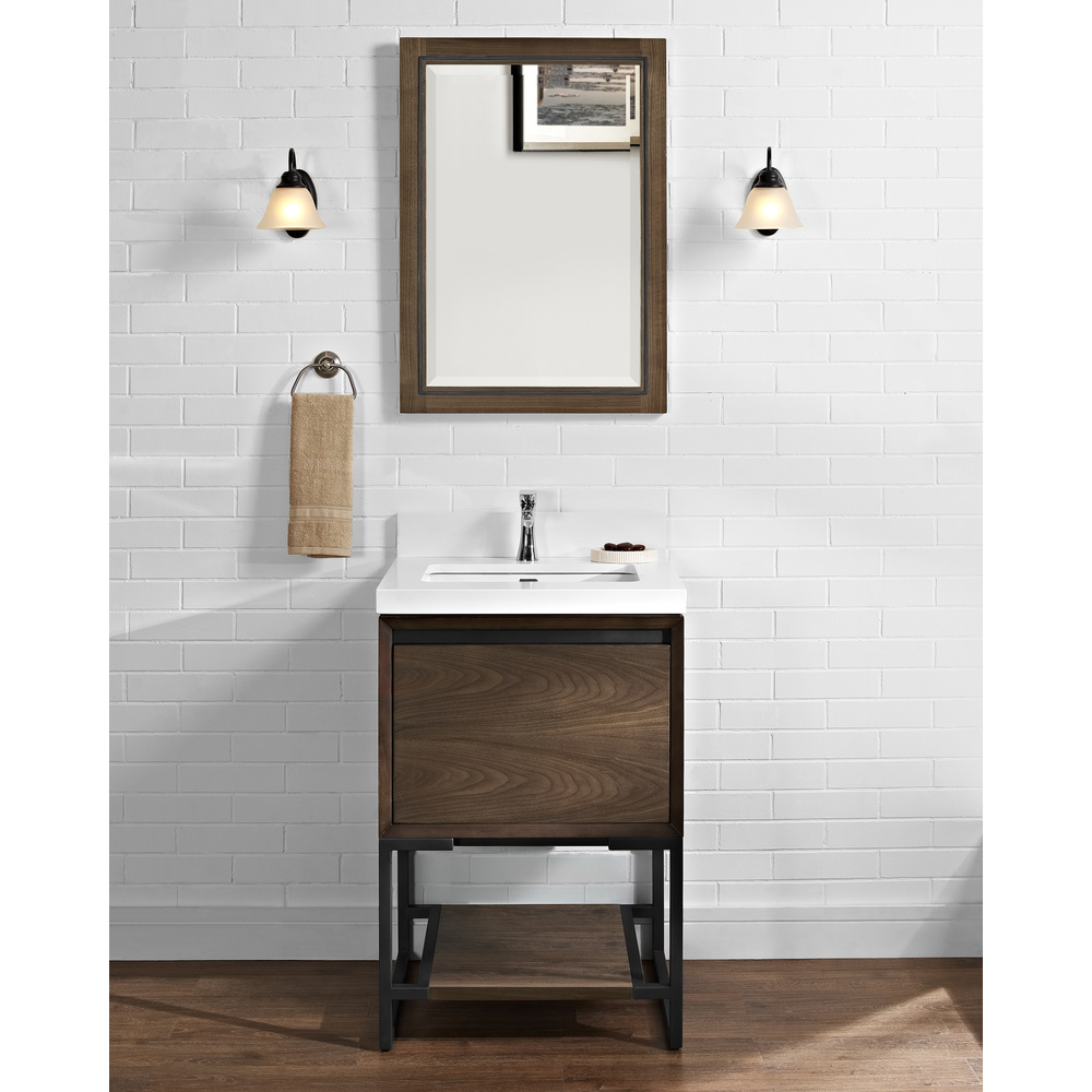 Fairmont Designs M4 24 Vanity Natural Walnut Free Shipping Modern Bathroom