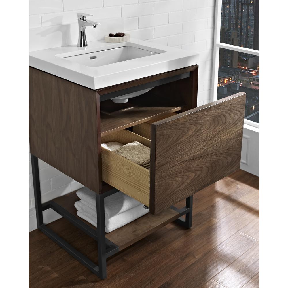 Fairmont Designs M4 24 Quot Vanity Natural Walnut Free