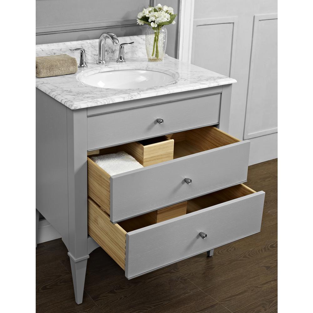 Fairmont designs charlottesville 30 vanity for undermount - Bathroom remodeling charlottesville va ...