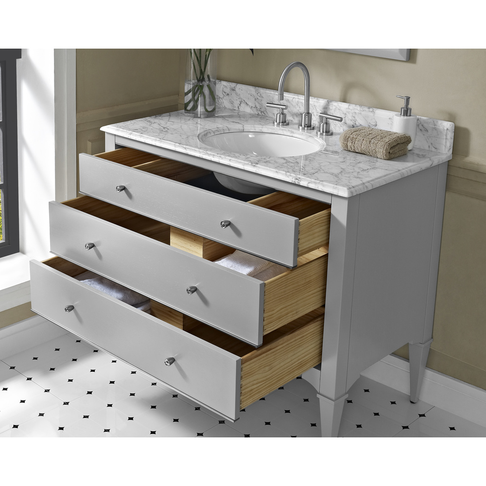 Fairmont designs charlottesville 42 vanity for undermount - Bathroom remodeling charlottesville va ...