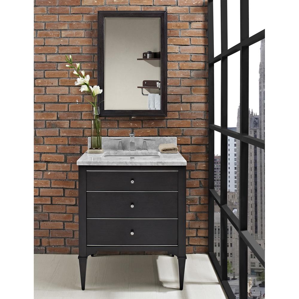 Fairmont Designs Charlottesville 30 Vanity Vintage Black Free Shipping Modern Bathroom