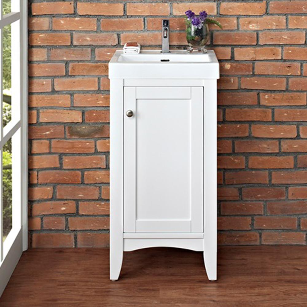Fairmont Designs Shaker Americana 18 Vanity Polar White Free Shipping Modern Bathroom