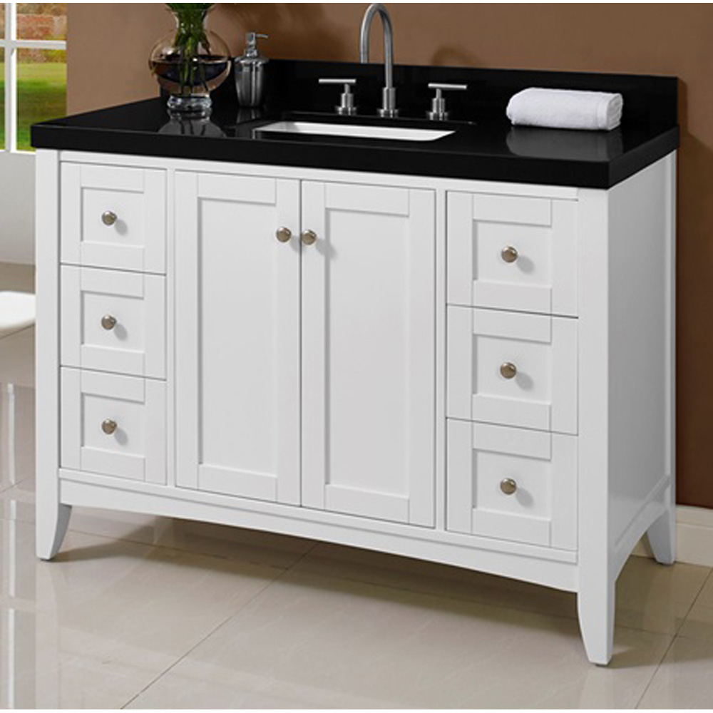 Fairmont Designs Shaker Americana 48 Quot Vanity For Quartz