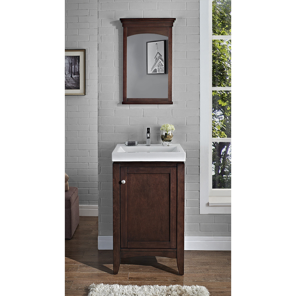 Fairmont Designs Shaker Americana 21 Vanity Habana Cherry Free Shipping Modern Bathroom