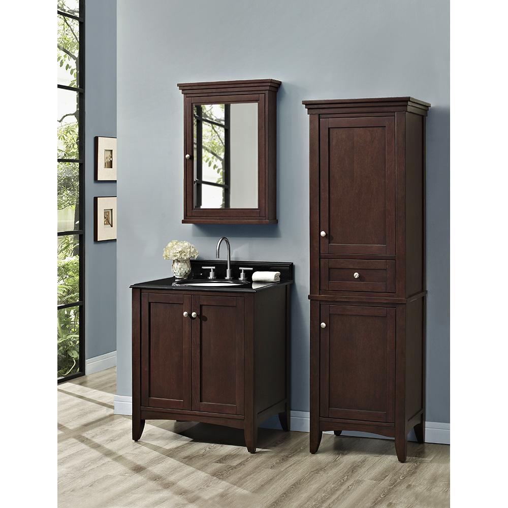 Fairmont designs shaker americana 30 vanity habana for 30 modern bathroom vanity