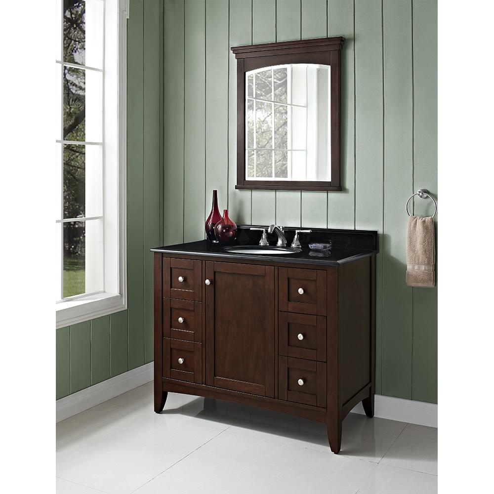 Fairmont designs shaker americana 42 vanity habana for Americana bathroom ideas
