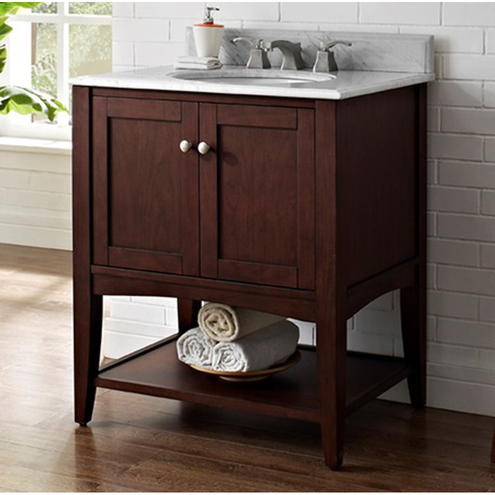 Fairmont Designs Shaker Americana 30 Quot Vanity Open Shelf