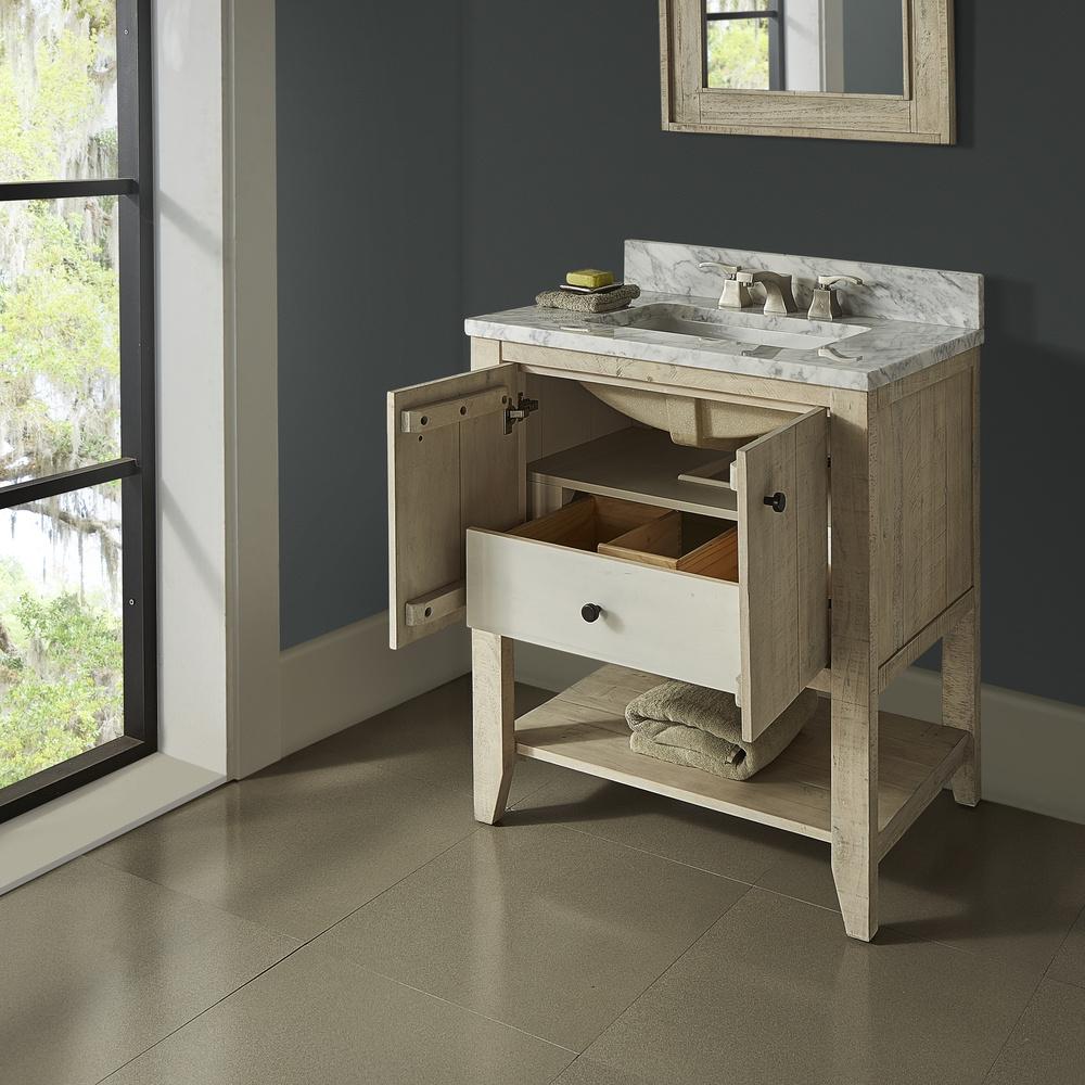 Fairmont Designs River View 30 Quot Open Shelf Vanity