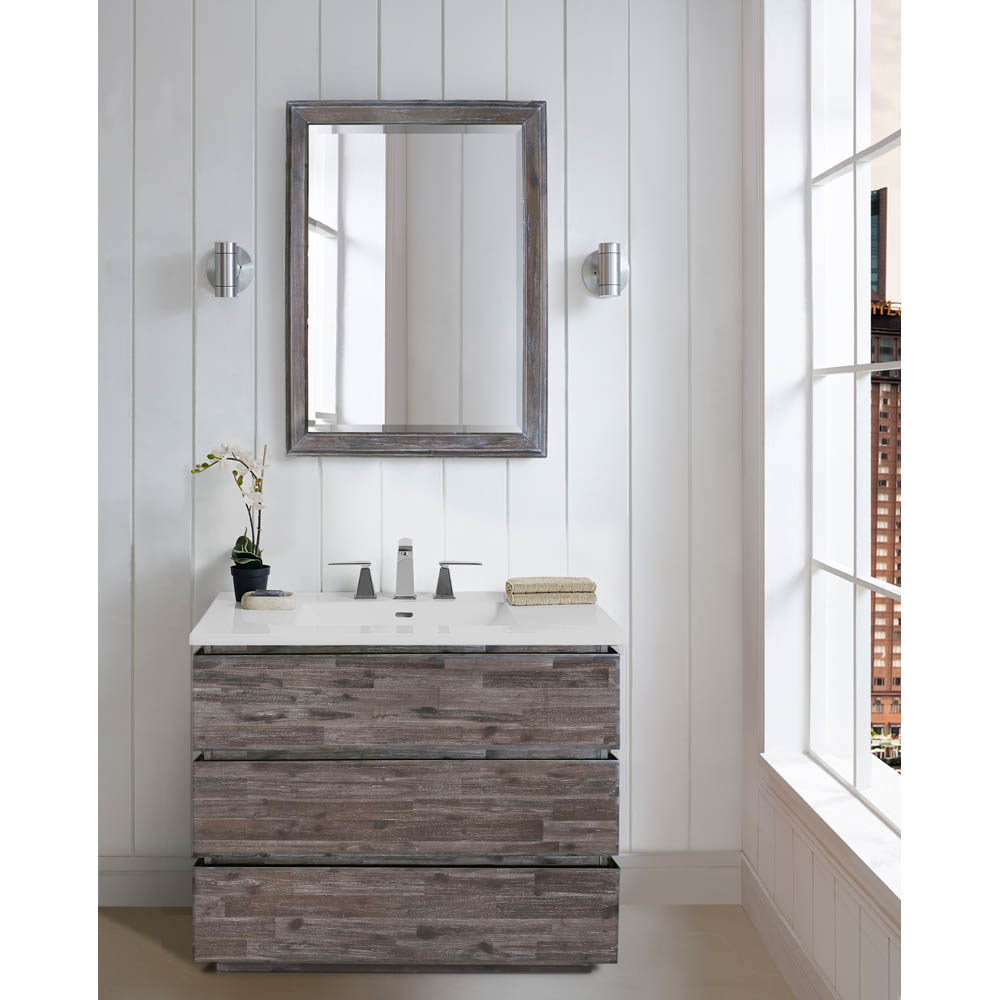 Fairmont Designs Acacia 36 Quot Vanity For Integrated Top Organic Brown Free Shipping Modern
