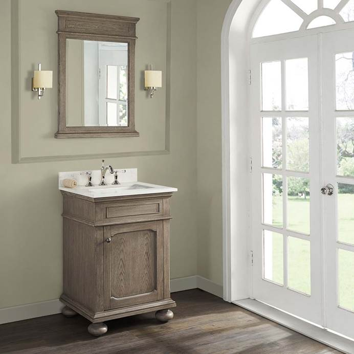 "Fairmont Designs Oakhurst 24"" Vanity - Antique Grey 1535-V24"