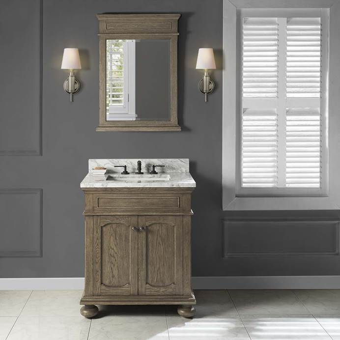 "Fairmont Designs Oakhurst 30"" Vanity - Antique Grey 1535-V30"