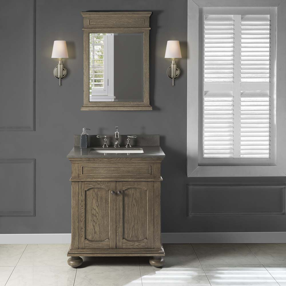 Fairmont Designs Oakhurst 30 Quot Vanity Antique Grey Free