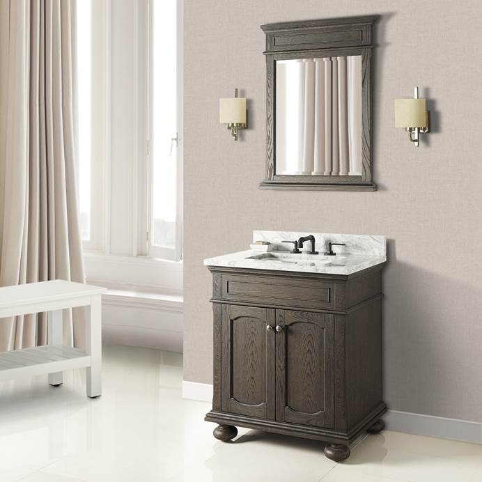 "Fairmont Designs Oakhurst 30"" Vanity - Burnt Chocolate 1536-V30"