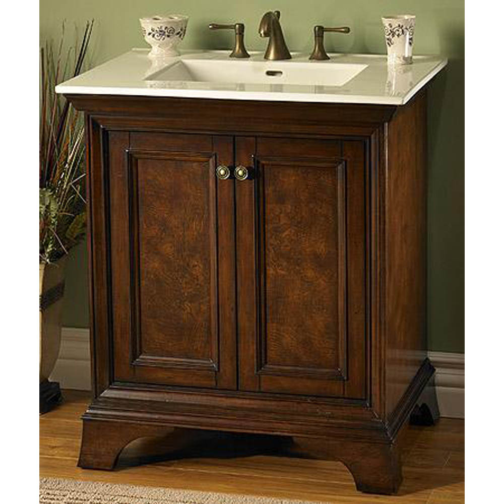 Fairmont Designs Newhaven 30 Quot Vanity Nutmeg Free Shipping Modern Bathroom