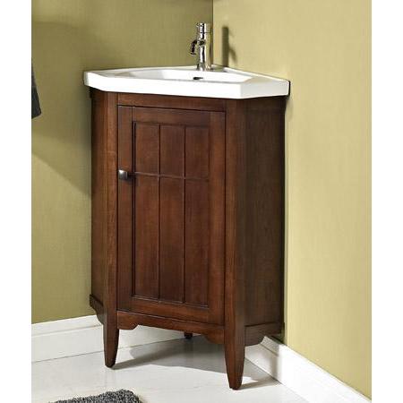 fairmont designs prairie 26 corner vanity sink set cognac free shipping modern bathroom. Black Bedroom Furniture Sets. Home Design Ideas