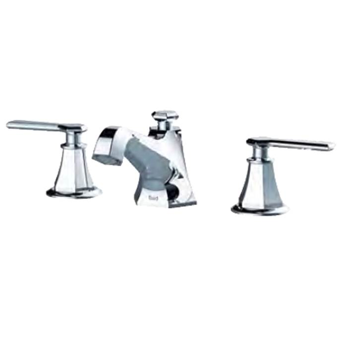 fluid Symmetry Dual Handle Lavatory Tap - Lever Handles F17006-