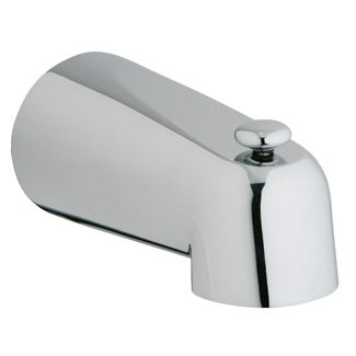 "Grohe 5"" Diverter Tub Spout, Starlight Chrome by GROHE"