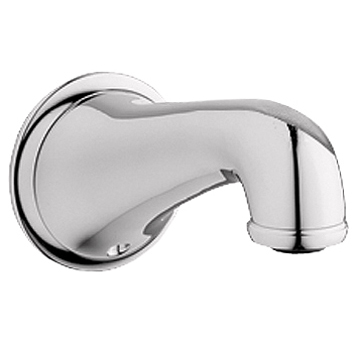 Grohe Seabury Tub Spout, Sterling Infinity Finish by GROHE