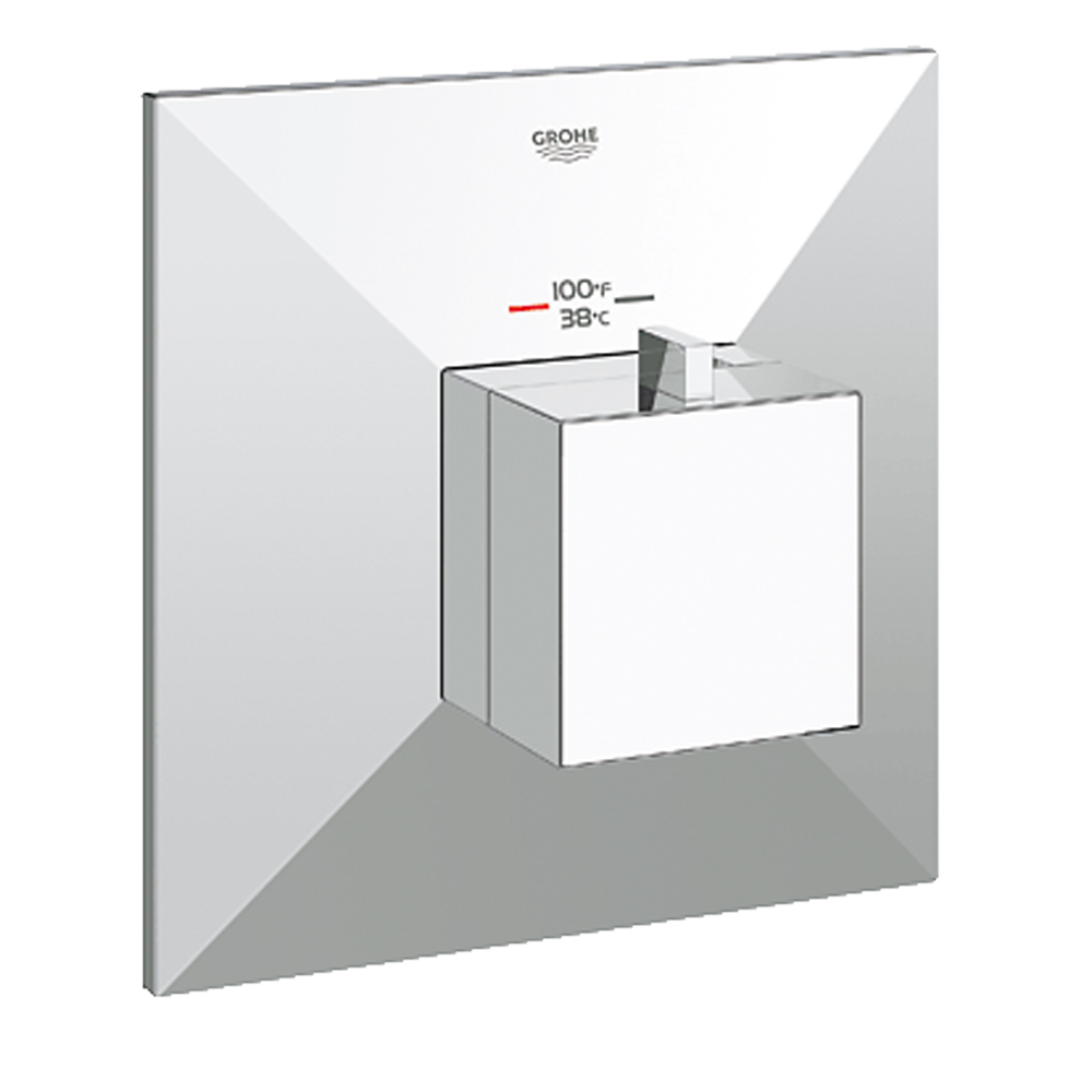 Grohe GrohFlex Allure Brilliant Custom Shower Thermostatic Trim with Control Module, Starlight Chrome GRO 19795000 by GROHE
