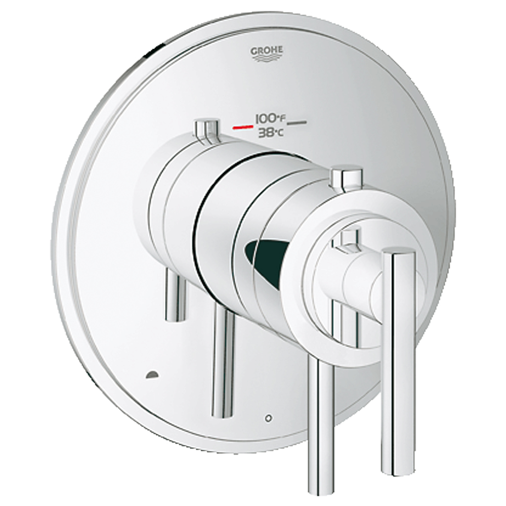 Grohe Atrio Dual Function Thermostatic Trim With Control