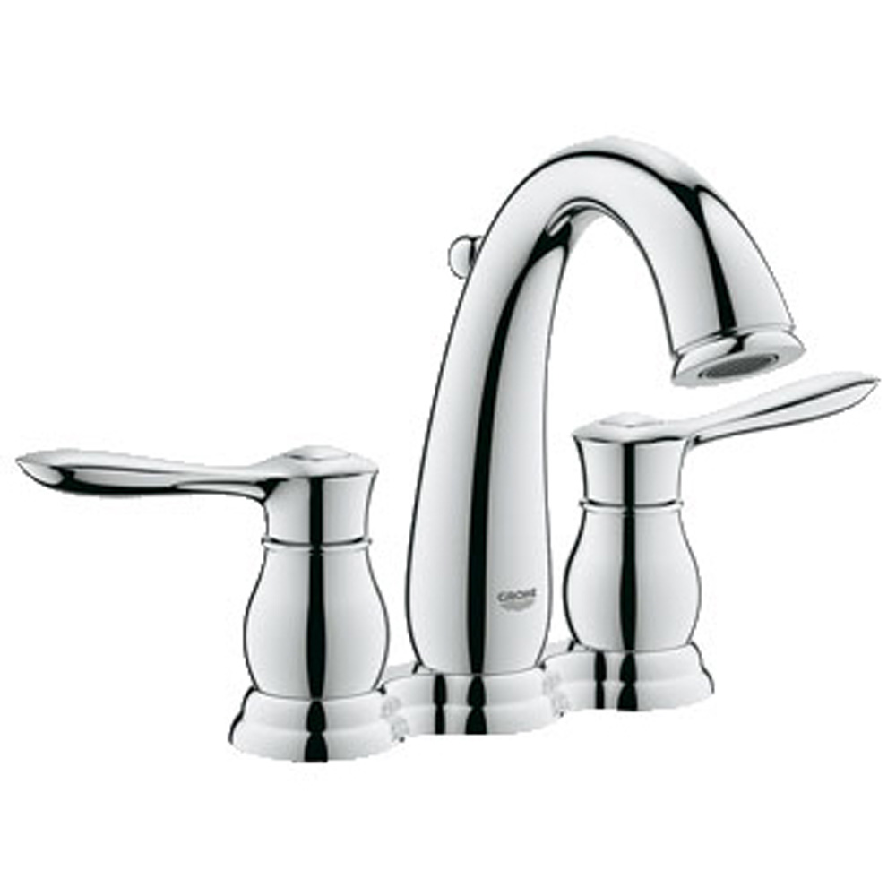 """Grohe Parkfield 4"""" Lavatory Centerset, Starlight Chrome GRO 20391000 by GROHE"""