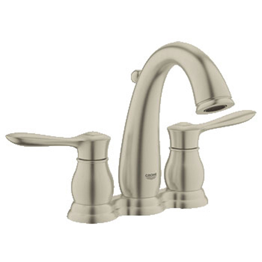 """Grohe Parkfield 4"""" Lavatory Centerset, Brushed Nickel GRO 20391EN0 by GROHE"""