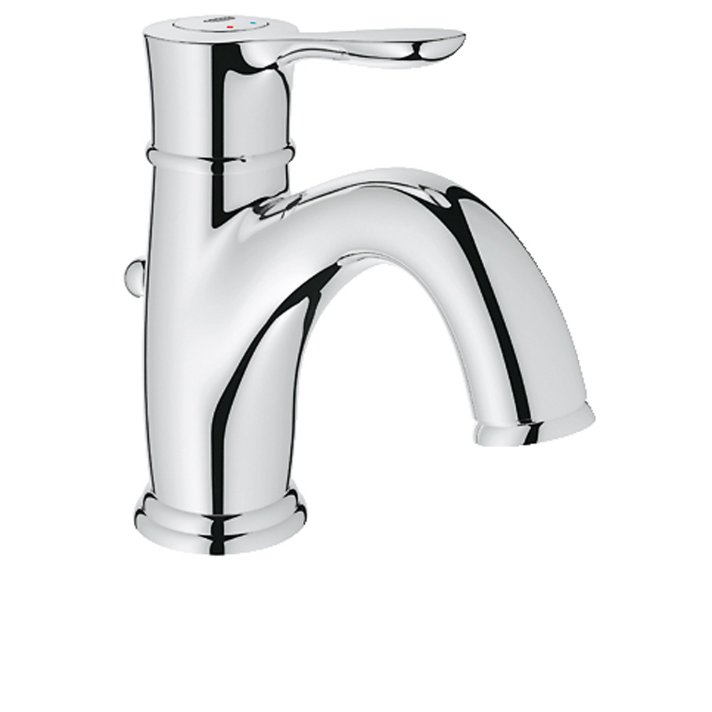 Grohe Parkfield Lavatory Single-hole Centerset with Pop-up Waste, Starlight Chrome GRO 23305000 by GROHE