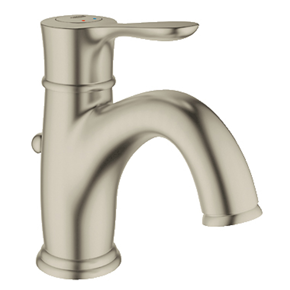 Grohe Parkfield Lavatory Single-hole Centerset with Pop-up Waste, Brushed Nickel GRO 23305EN0 by GROHE