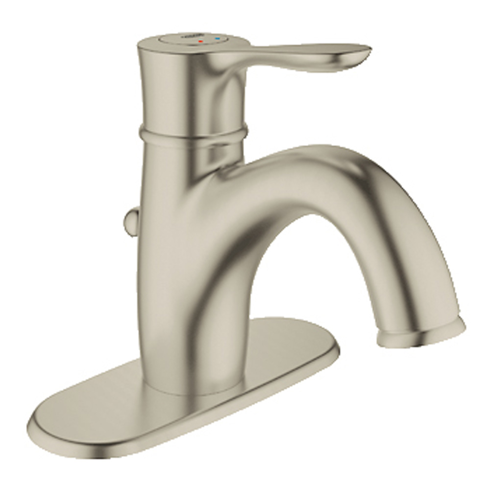 """Grohe Parkfield 4"""" Lavatory Centerset, Brushed Nickel GRO 23306EN0 by GROHE"""