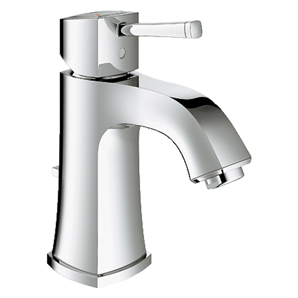 Grohe Grandera Lavatory Single-hole Centerset M-Size with Pop-up Waste, Starlight Chrome GRO 23311000 by GROHE