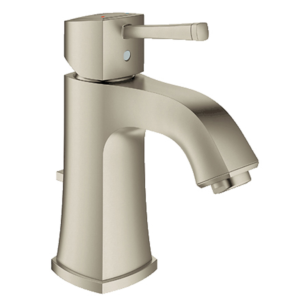 Grohe Grandera Lavatory Single-hole Centerset M-Size with Pop-up Waste, Brushed Nickel GRO 23311EN0 by GROHE
